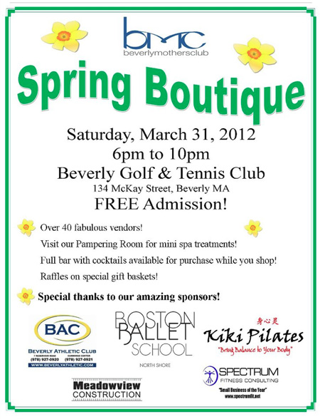 BMC Spring Boutique 2012